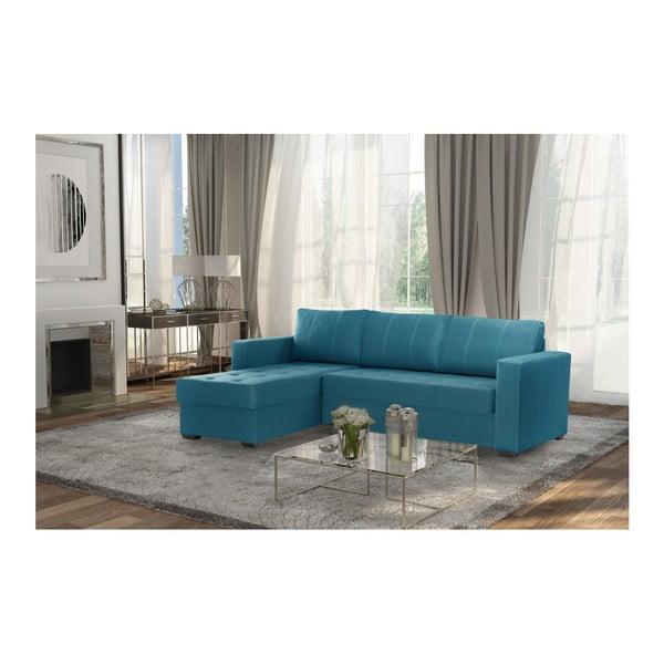 Succes világostürkiz kanapé, bal oldalas - Interieur De Famille Paris