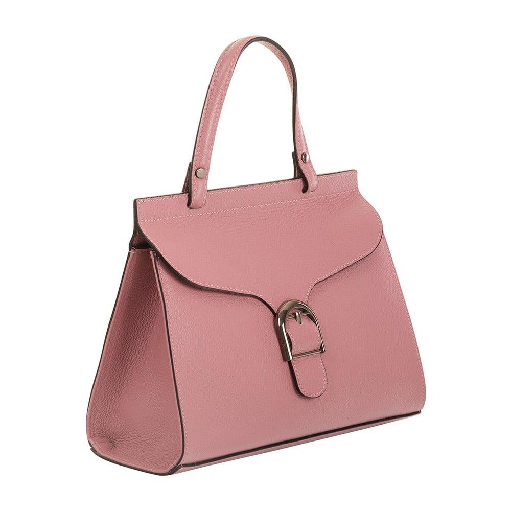c6e74b5b31f5 Thalia rózsaszín kézitáska valódi bőrből - Andrea Cardone | Bonami