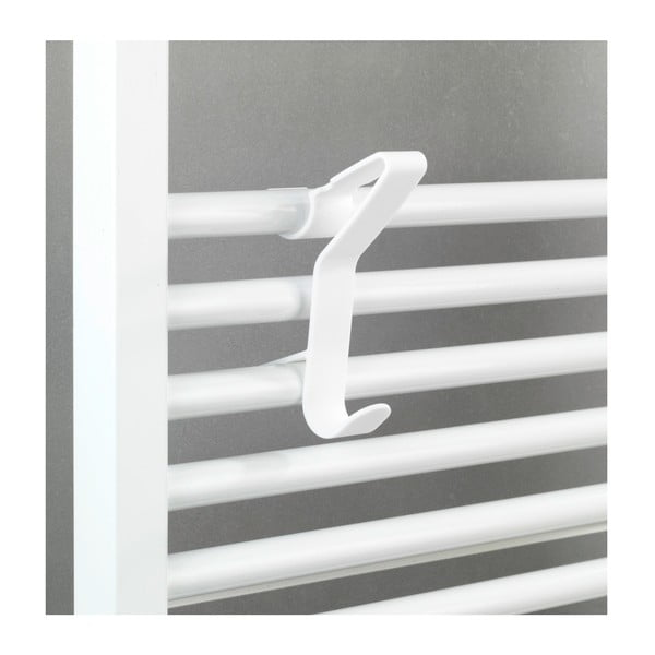 Flexi radiátorra akasztható fehér kampó - Wenko