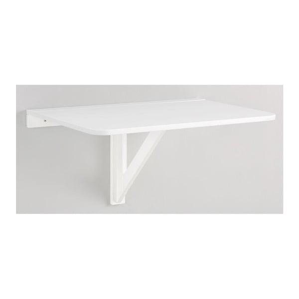 Trento fehér falra szerelhető lehajtható asztal, 41 x 80 cm - Støraa