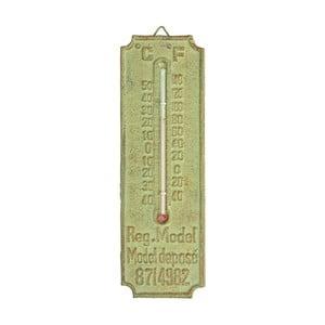 Zöld öntöttvas szabadtéri hőmérő - Esschert Design