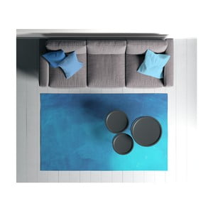 Suzzo Garto kék szőnyeg, 100 x 150 cm - Oyo home