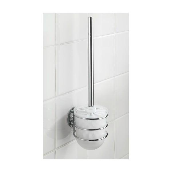 Turbo-Loc fúrásmentes WC-kefetartó és WC-kefe, 40 kg-ig - Wenko