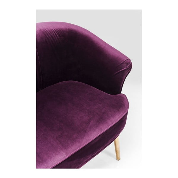 Cabaret lila kétszemélyes kanapé - Kare Design