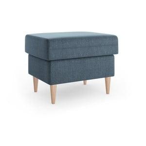 Aubrieta kék puff, 60 x 45 cm - Mazzini Sofas