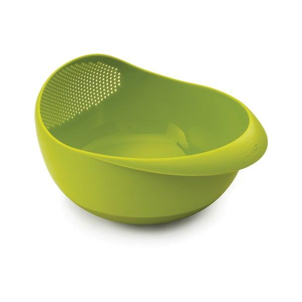 Prep&Serve zöld tésztaszűrő edény, 21 cm - Joseph Joseph
