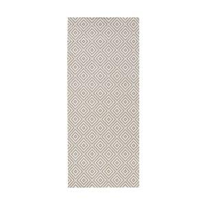 Karo szürke kültéri szőnyeg, 80 x 150 cm - Bougari