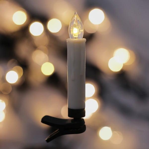 Blinx 10 db gyertya formájú lámpa karácsonyfára - DecoKing