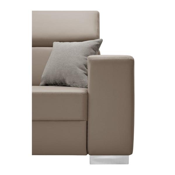Tresor karamell színű kanapé, bal oldalas - Interieur De Famille Paris