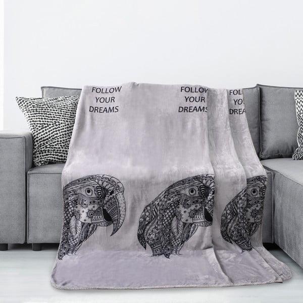 Macaw mikroszálas takaró, 220 x 240 cm - AmeliaHome