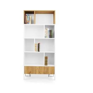 Hesse tölgyfa könyvespolc - SKANDICA