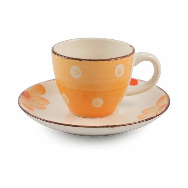 Tazzine 6 db-os színes kávéscsésze és csészealj készlet - Villa d'Este