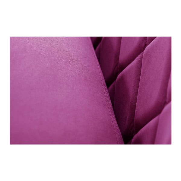 Diva lila háromszemélyes kanapé - Scandi by Stella Cadente Maison