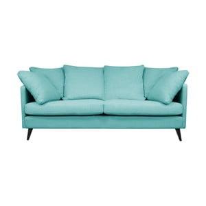 Victoria türkizkék 3 személyes kanapé - Helga Interiors