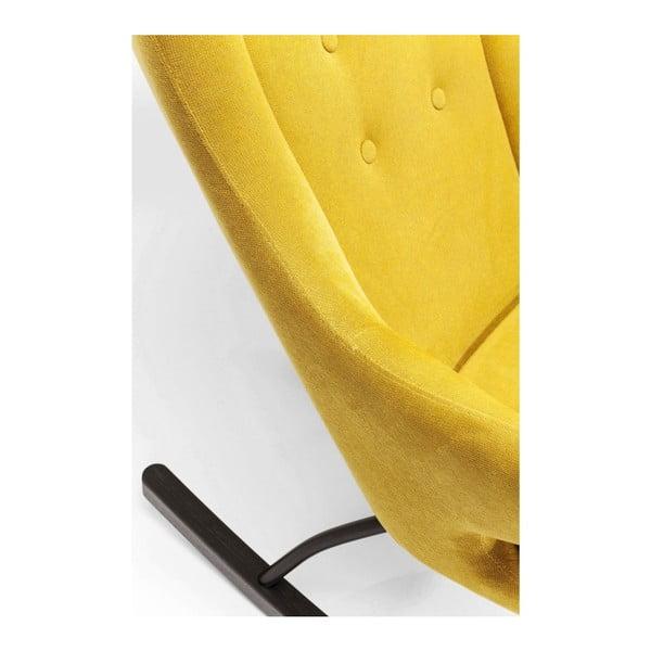 Oslo sárga hintaszék - Kare Design