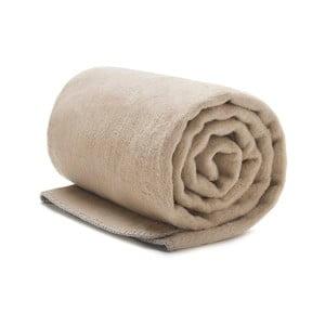 Bézs pamut takaró, 150x200cm - Mumla