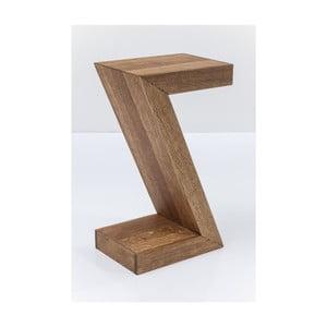 Z tölgyfa tárolóasztal, 30 x 20 cm - Kare Design