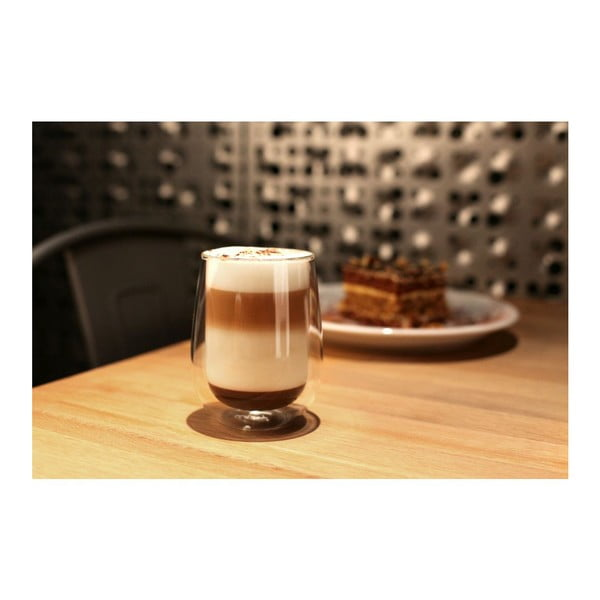 Amo duplafalú pohár, 400ml - Vialli Design