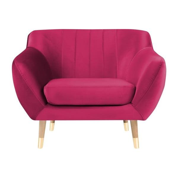 Benito rózsaszín fotel - Mazzini Sofas