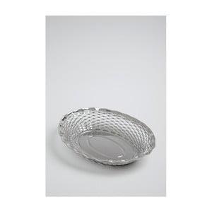 Ovális kenyérkosár, 30 x 24 cm - Steel Function