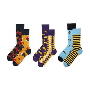Fauna 3 pár zokni ajándékcsomagolásban, méret 43-46 - Many Mornings