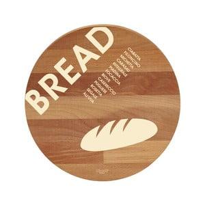 Bread bükkfa tálalódeszka/vágódeszka, 30 cm - Bisetti