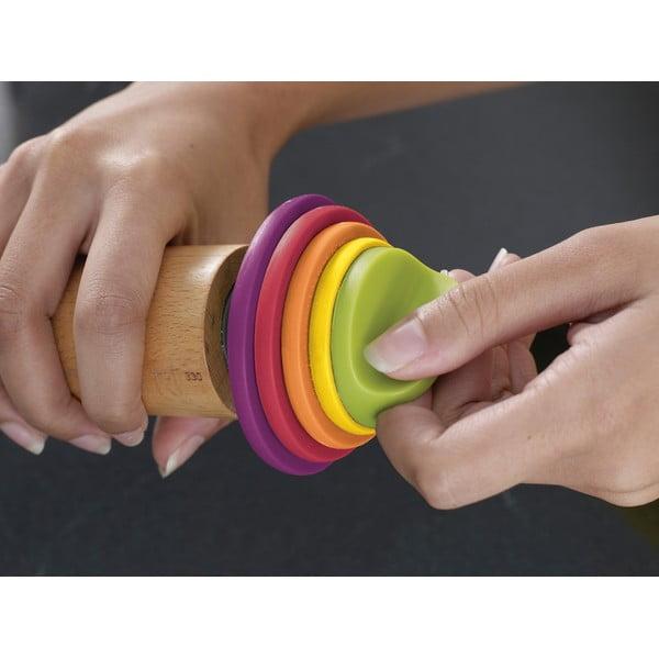 Állítható sodrófa, színes gyűrűkkel - Joseph Joseph