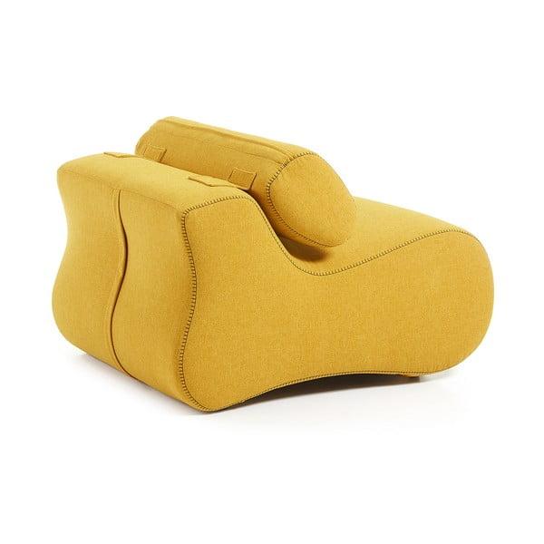 Club sárga fotel - La Forma