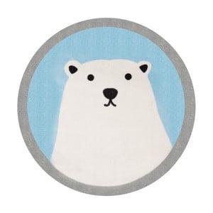 Polar Bear gyerekszőnyeg, ⌀ 100 cm - Zala Living