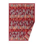Treski piros mintás kétoldalú szőnyeg, 70 x 140 cm - Narma