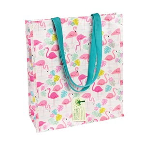 Flamingo Bay bevásárlótáska újrahasznosított műanyagból - Rex London