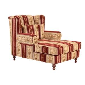 Mareille Vintage Red füles fotel - Max Winzer