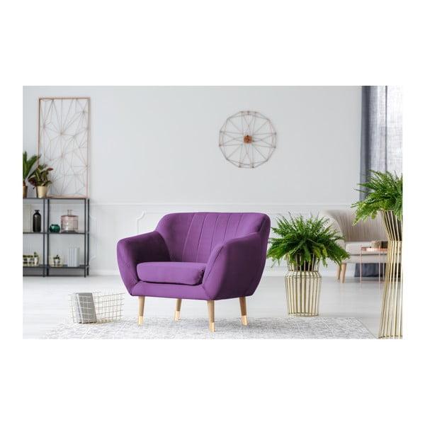 Benito lila fotel - Mazzini Sofas