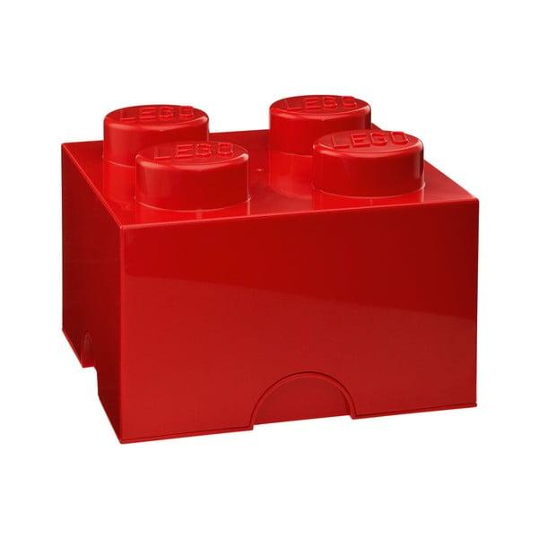 Piros szögletes tárolódoboz - LEGO®