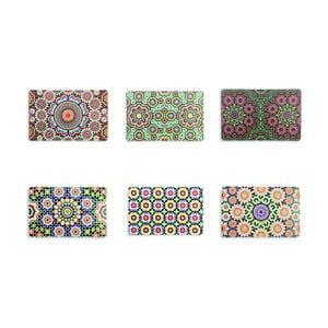 Marrakech műanyag tányéralátét, 6 db - Villa d'Este