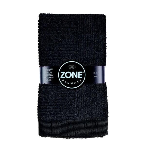 Classic fekete törölköző, 50 x 70 cm - Zone
