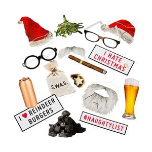 Bad Santa fotós szett - Talking Tables