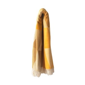 Pisa pamut-akril sárga pléd f2e6de94e1