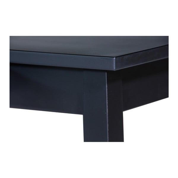 Saima fekete, fiókos dohányzóasztal - We47