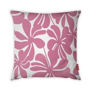 Růžovo-bílý povlak na polštář Vitaus Jungle Paradiso, 43 x 43 cm
