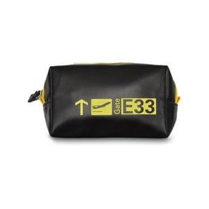 Gate fekete-sárga kozmetikai táska - Hero