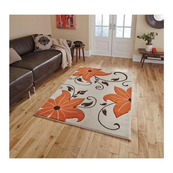 Verona bézs-narancssárga szőnyeg, 60 x 120 cm - Think Rugs