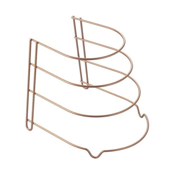 Sárgaréz színű serpenyőtartó - Metaltex