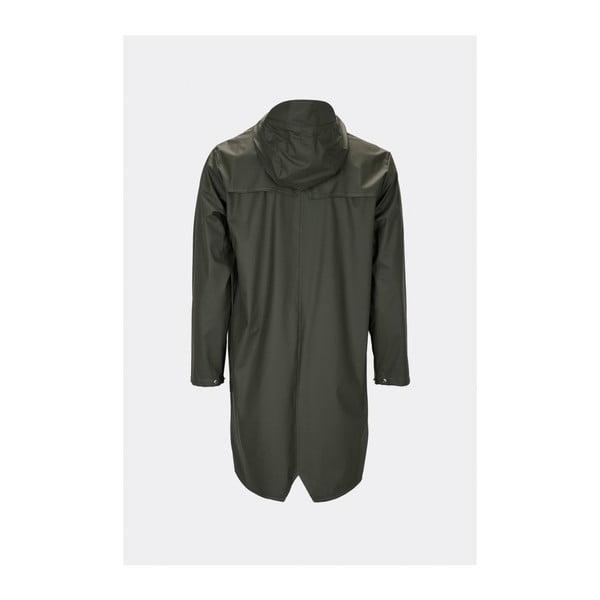 Long Jacket sötétzöld uniszex kabát nagy vízállósággal, méret: S / M - Rains