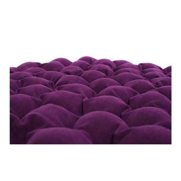 Bloom lila ülőpárna masszázsgolyókkal, ⌀ 75 cm - Linda Vrňáková