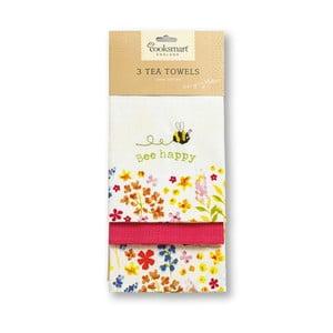 Bee Happy 3 db-os pamut konyharuha szett - Cooksmart ®
