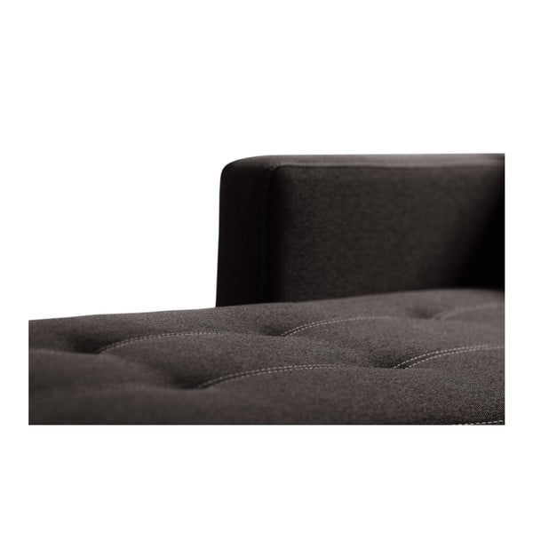 Succes sötétbarna kanapé, jobb oldalas - Interieur De Famille Paris