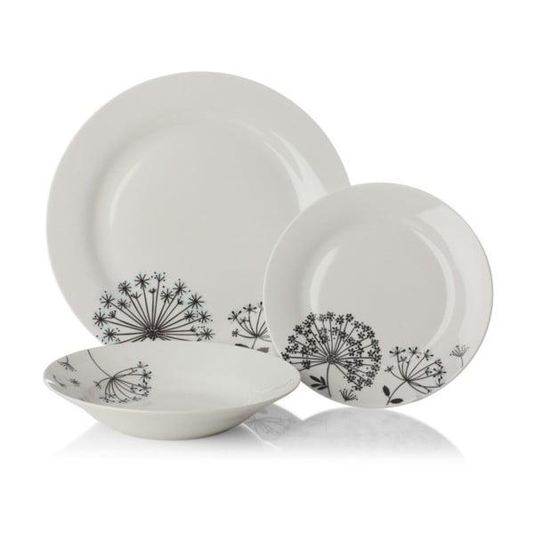 Dandelion porcelán étkészlet, 12 részes - Sabichi