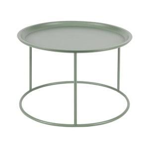 Ivar világoszöld rakodóasztal, Ø 56 cm - WOOOD