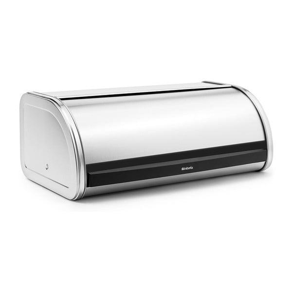 Roll Top ezüstszínű kenyértartó - Brabantia